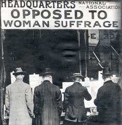Women suffrage essay
