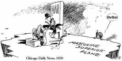 womens rights political cartoon