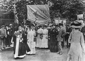 Susan B. Anthony Women's Rights Movement